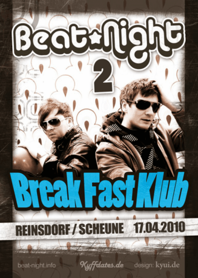 Flyer zur 2. Beatnight